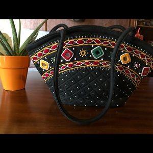 Handbags - Handcrafted Black Satchel Bag